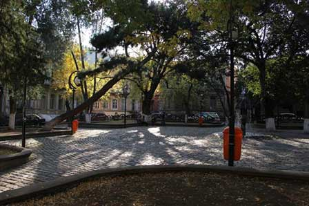 A Square of L. Gudiashvili, Tbilisi